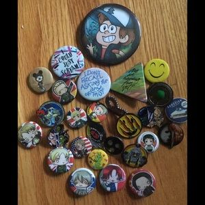Buttons and Pins!